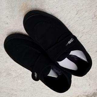 kid black shoe