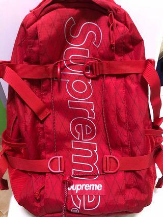 Supreme FW18 Backpack (Red)
