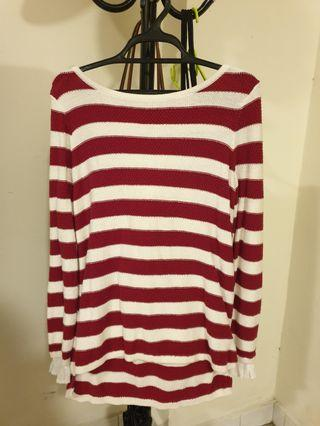 Esprit Knitted Stripe Top
