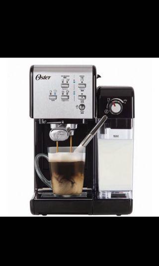 🚚 美國OSTER頂級義式膠囊兩用咖啡機 BVSTEM6701SS(銀)、送電動磨豆機