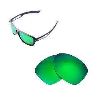 Dispatch II Emerald Green Walleva POLARIZED Replacement Lenses for Oakley Dispatch II Sunglasses