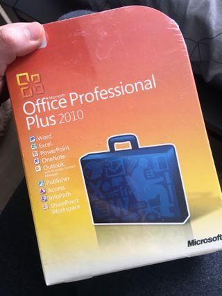 *Brand New* Microsoft Office Professional Plus 2010