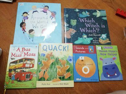 Preloved children book (all in one price)