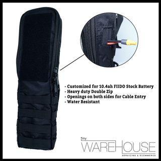 FIIDO Stock Battery Bag with DOUBLE ZIP