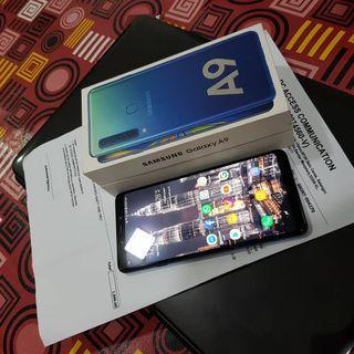 Samsung A9 Lemonade Blue 128 GB - Full Box