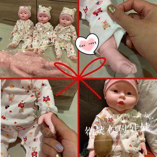 🚚 全新買就送衣服保母練習嬰兒娃娃 可入水洗澡 月嫂