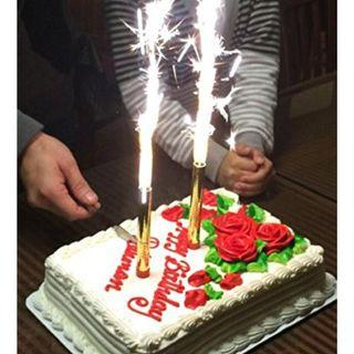 Hot Sell Birthday Sparkling Candles