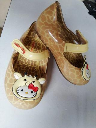 Authentic Grendha hello kitty giraffe shoes
