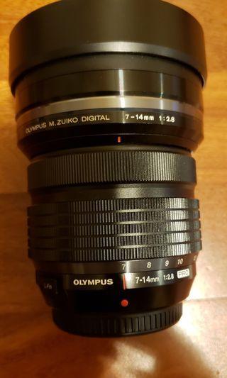 Olympus M.Zuiko ED 7-14mm F2.8 PRO