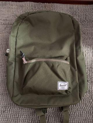Herschel olive green backpack