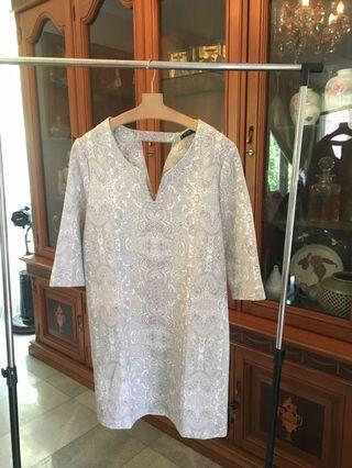 Mango paisley dress