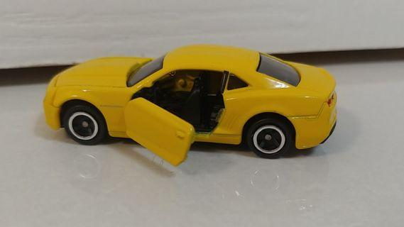tomica 2011 bumble bee transformers die cast car boys toys chevrolet camaro #endgameyourexcess