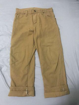 DICKIES 駝色工作褲
