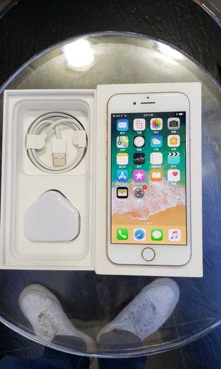 iPhone 8 64GB 95%new 100%work original gold black行貨金色黑色