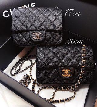 分享客人訂購貨品圖Chanel Flap17/20cm 水貨