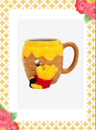 代購留名全新 迪士尼 小熊維尼 winnie the pooh hunny 杯 (沒有現貨)L
