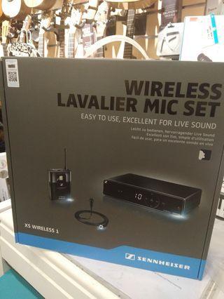 Brand new 行貨,Sennheiser XSW 1-ME2 clip wireless microphone Lavalier Microphone 無線咪  夾咪 耳領咪