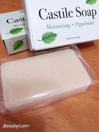 **夏天必備* 薄荷香皂 Castile soap(peppermint)