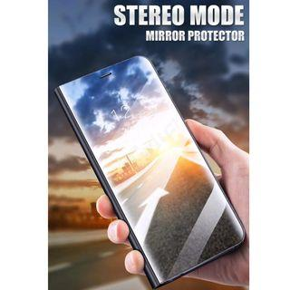 Samsung A7/A9 (2018) Electroplated Mirror Flip Case