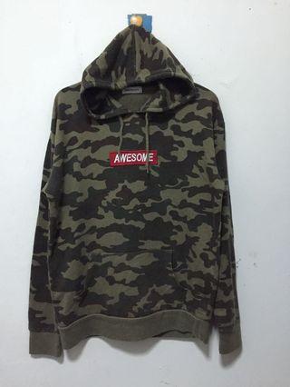 army hoodie box logo