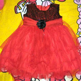 Gaun anak gaun pesta ultah