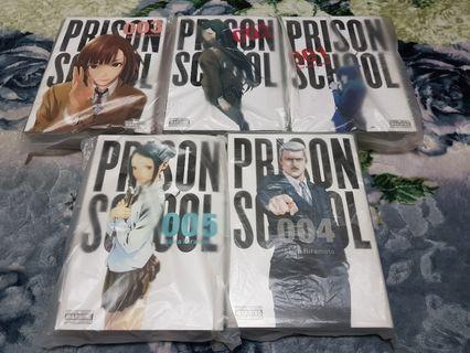 Prison School Omnibus Vol. 1-5 manga