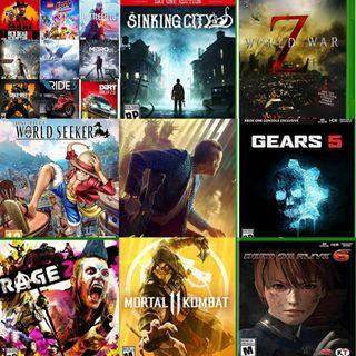 jasa isi game ps 4 , xbox one dan switch