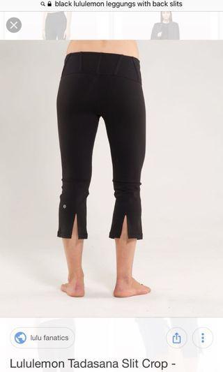 Aritzia cropped leggings