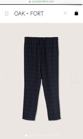 Oak and fort pants