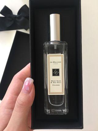 Jo Malone 香水 Wood Sage & Sea Salt Perfume 鼠尾草與海鹽