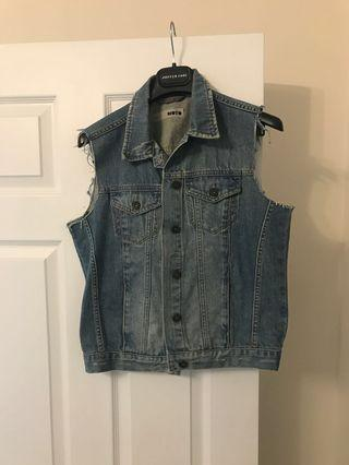 Jean Vest from TopShop