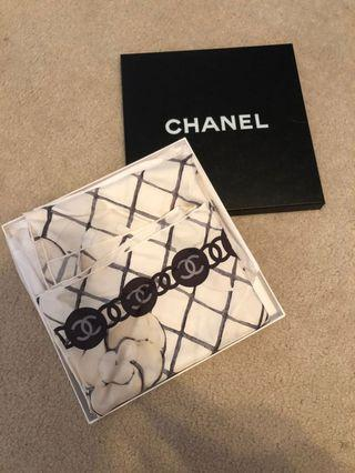 Gorgeous Chanel Silky Scarf + Box