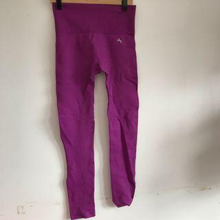 Purple joy lab athletic leggings