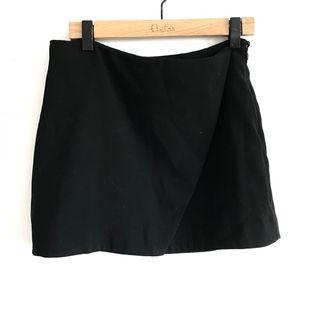 Black wrap looking skirt