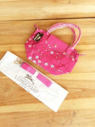 NWT Longchamp Sakura