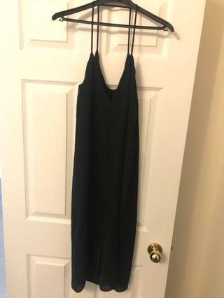 Long Loose Black Dress from Oak & Fort