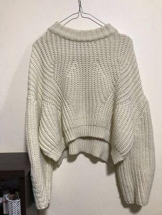 DAHLI Cream Chunky Knit Sweater