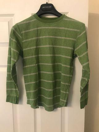 Green Striped Long Sleeve from Gap Kids