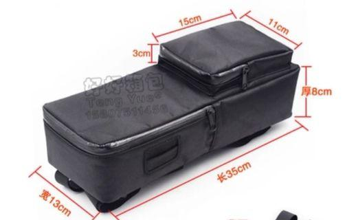 Battery bag with small pouch 35x13x8cm