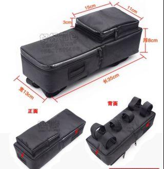 Battery bag with pouch 35x13x8cm