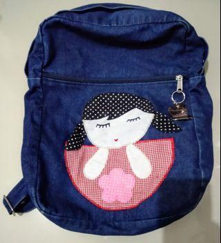 Tas Jeans Backpack