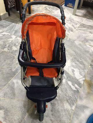 Mini Baby Stroller (Toy)