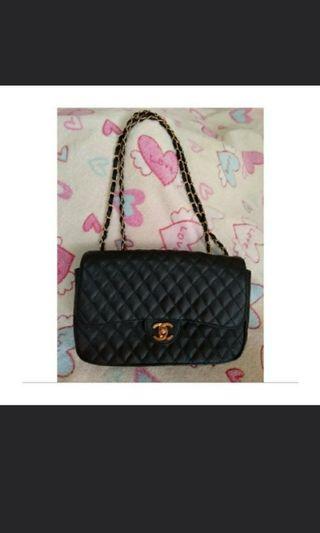 916c74e3ab16 Chanel Vintage Big Single Flap