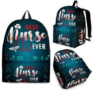 Best Nurse Ever Backpack