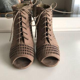 Brown nudish sandals