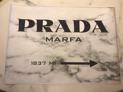 Canvas Poster / Painting - Prada (Brand New)