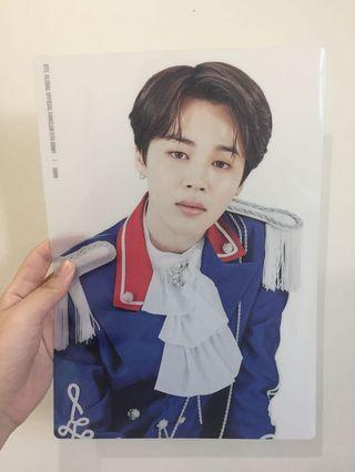 [RARE] BTS 5th Term Membership Jimin Transparent A4 Poster