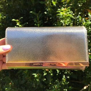 Gold Purse/Bag