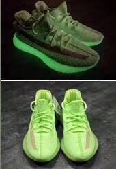 🚚 Yeezy boost 350 v2 {glow in dark}