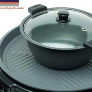 Special Price Used  MORRIES 883 BBQ GRILL WITH HOTPOT (2 IN 1)(NON-STICK COATING)